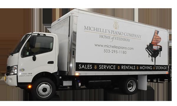 Portland Piano Moving Truck